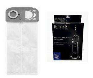 Riccar R25P, R25D, R25S Upright Hepa Media Vacuum Bags 6 in Pack R25H-6