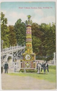 card - Fruit Column, Pandora Park, Reading, Pa (A159)