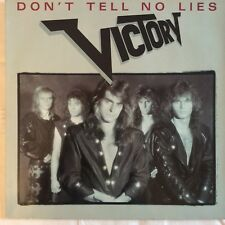 "Victory, Don't tell no lies, 12"" Vinyl  LP, 1989, Record, Maxi Single, D., M/NM"