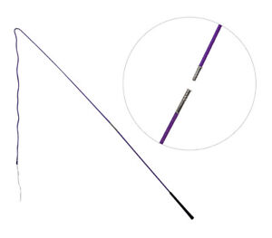 Showmaster Lunge Whip 2 Piece Training Lunging Driving 160Cm Purple