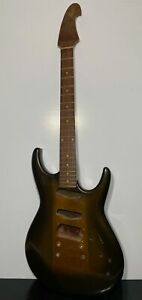 RARE Custom Hand Made Rockstar Electric Guitar - Needs Parts & Repair e