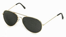 Metall-Rasterbrille 420-PGG, ganzflächiger Raster