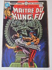 MAITRE DU KUNG FU  92 / 93 B&W French comic Heritage Marvel 105  106