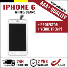 "AAA+ LCD VITRE SCREEN SCHERM ÉCRAN WHITE BLANC & VERRE TREMPÉ FOR IPHONE 6 4.7"""