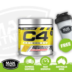 Cellucor C4 Original Pre-Workout (30 serves)   FREE Shaker & Shipping