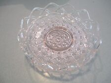 Antique  Pink Depression Era Glass- fine open  Lace pattern  mint condition