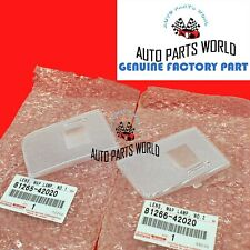 GENUINE OEM TOYOTA RAV4 PRIUS V SCION iM RIGHT & LEFT INTERIOR MAP LAMP LENS SET