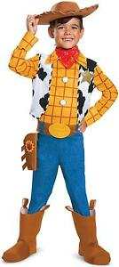 Toy Story 4 Woody Deluxe Boys size M 7/8 Licensed Costume Disguise