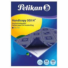 100 Blatt Pelikan Durchschlagpapier 303H / Blaupapier / Durchschreibpapier / A4