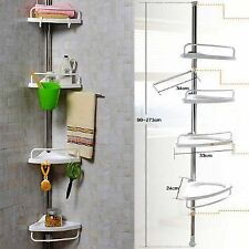 Bathroom Multi Corner 4 Tier Corner Shower Shelf