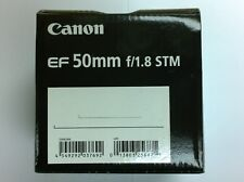 Canon EF 50mm f/1.8 STM Lens Macro 0.35m / 1.1 ft