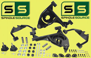 """4"""" Drop Control Arms (Uppers AND Lowers)  FOR 1999 - 2006 Silverado / Sierra 2WD"""