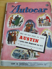December Autocar Cars, Pre-1960 Magazines in English