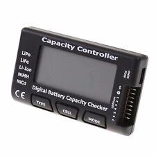 LiPo LiFe Li-Ion NiMH Nicd Cell Meter Digital Battery Capacity Meter Power Teste