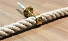 100cm 9mm Messing Läuferstangen Teppichstangen Treppenläuferstangen Eisenkern