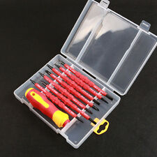 7in1 Insulated Handle Slotted Phillips Screwdriver Repair Tools Magnet Kit Stock