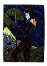 Comic Images 1995 Shi All Chromium Card #64 The Four Seasons of Fuji Autumn