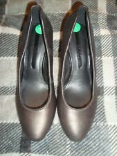ECCO  UK 4  EU 37 pleated Leather shoes   RRP £ 129.00