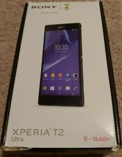 Sony Xperia T2 Ultra D5316 - 8GB - Black (T-Mobile GSM Unlocked) Smartphone
