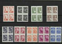 Russia 1948-61 mint never hinged Stamps cat £150  Ref 15346