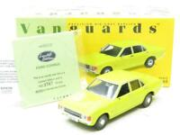 Corgi Vanguards Diecast VA05502 Ford Consul Daytona Yellow 1 43 Scale Boxed