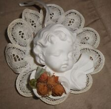 Ceramic Baby Angel Christmas Holiday Ornament