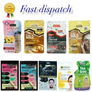 Face Masks Packs All Skin Types Face Peel Mask By Garnier & Beauty Formulas