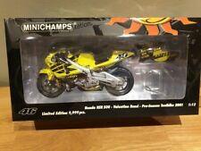 VALENTINO ROSSI Minichamps 1/12 Honda 2001 pre season Test Bike 122016946