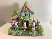 Cottontale Cottages Jo-Ann Stores Bakery Porcelain Original Box 1999