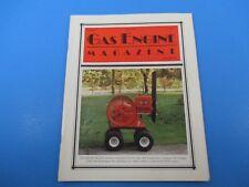 Gas Engine Magazine August 1997 6 HP IHC Model M J. Cook WV Vol. 32 No. 8 M2700