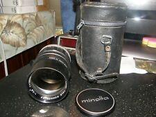 Minolta TELE ROKKOR-PF 1:2.8 f=135mm telephoto lens