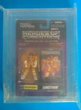 Transformers 2003 Sunstorm Heroes of Cybertron HOC SCF PVC AFA U90 Uncirculated