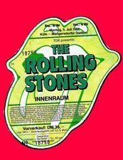 ROLLING STONES - KOLN - INNENRAUM - 1982 - UNUSED - UNTORN