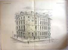 1891 edificios para el ingeniero revista, 33 Norfolk Street Strand