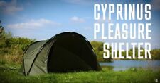 Cyprinus™ 1 man carp fishing bivvy shelter tent with groundsheet, pegs & poles