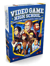 VIDEO GAME HIGH SCHOOL - Board Game (Plaid Hat Games) #NEW
