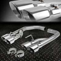 """FOR 18-20 FORD MUSTANG 5.0L AXLE CAT BACK EXHAUST SYSTEM W/4"""" OD MUFFLER TIPS"""