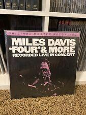 *Four and More: Recorded Live in Concert* Mile Davis LP Vinyl MOFI MFSL **New**