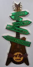 Hard Rock Cafe Edinburg - Sign Guitar Pin