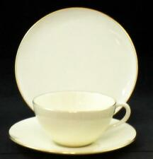 Lenox OLYMPIA GOLD Trio Bread + Cup & Saucer Ivory with Gold Trim X303
