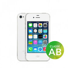 APPLE IPHONE 4S 16GB BIANCO ORIGINALE SIM FREE iOS 9 ACCESSORI + GARANZIA 90 GG!