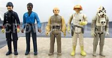 Vintage Star Wars Lando Calrissian Lobot Cloud Pilot Bespin Guard & ATAT Driver
