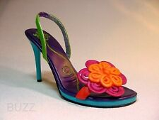 China Doll Beverly Feldman Colored Passementerie Embroidered Just the Right Shoe