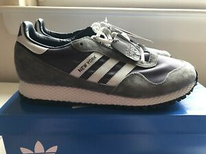 ADIDAS NEW YORK SPZL SPEZIAL GREY BNIBWT SIZE UK 9.5 TRAINERS NEW SNEAKERS