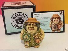 Harmony Kingdom Pot Bellys Figurine In Box Coa Gardener Flower Potter 1St Ribbon