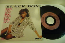 BLACK BOX 45T EVERYBODY EVERYBODY.CARRERE FRENCH . SEXY COVER CHEESECAKE.
