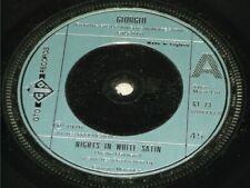 """Giorgio (Moroder):   Nights In White Satin   1976  UK  EX  7"""""""