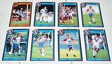 FOOTBALL CARDS PANINI CARTES 1993 OLYMPIQUE LYONNAIS LYON OL GERLAND 1992-93