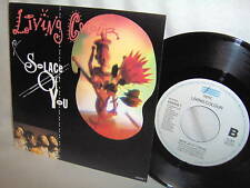 LIVING COLOUR-SOLACE OF YOU/NEW JACK HOLLAND NM/NM VINYL RECORD 45+PS