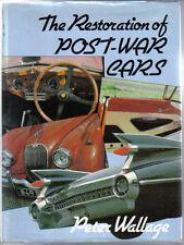 RESTAURO di auto del dopoguerra tecnica LIBRO DI PETER wallage PUB. batsford 1979